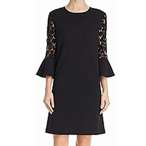 NEW Nanette Lepore Lace sleeves Dress 10 NWT